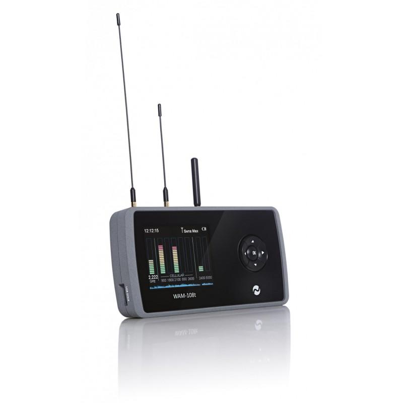 Detector de Frecuencias Monitor de Actividad Inalámbrica