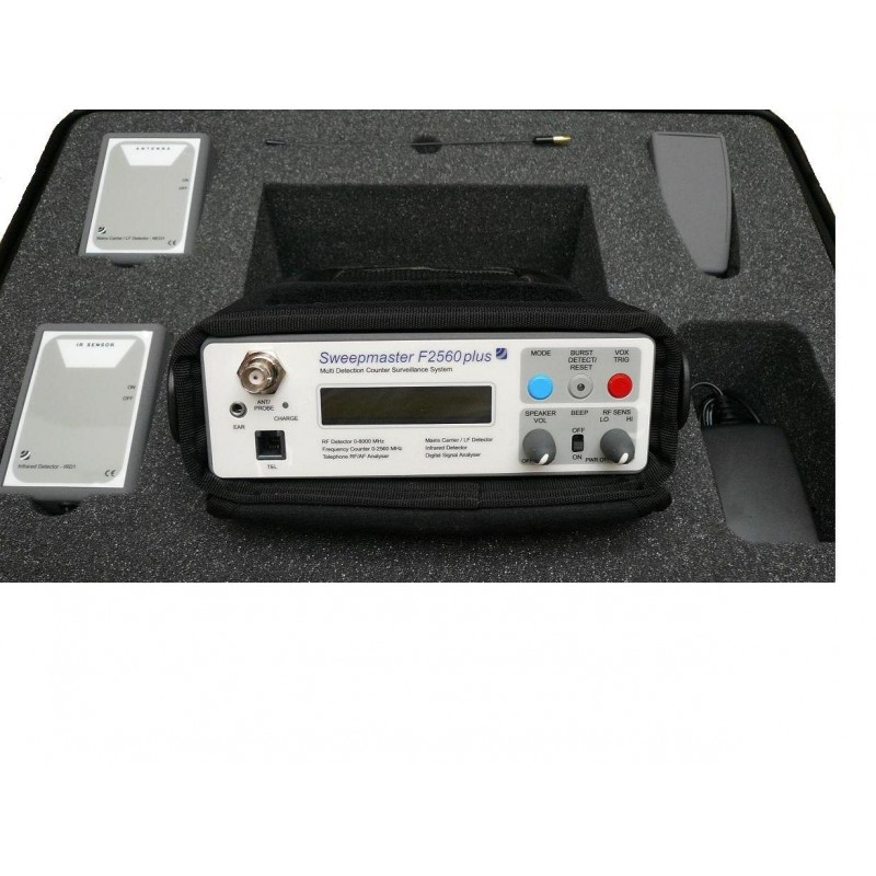 Detector de Frecuencias GSM 6GHz