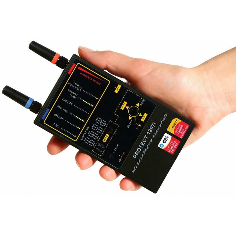 Detector de Frecuencias Protect 1207i