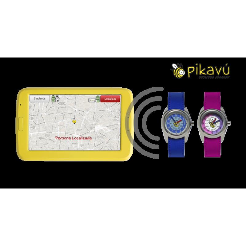 Localizador GPS GSM para niños Pikavú